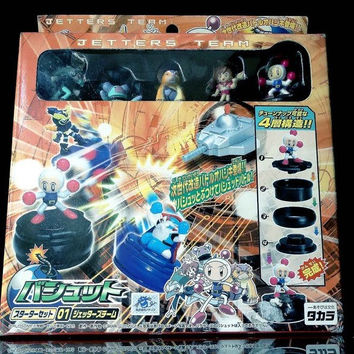 Takara 2002 Bomberman Battle B-Daman Jetters Team Chess Board Game Play Set