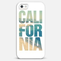 California Vintage Instagram Beach Typography iPhone 5s case by Rex Lambo | Casetagram