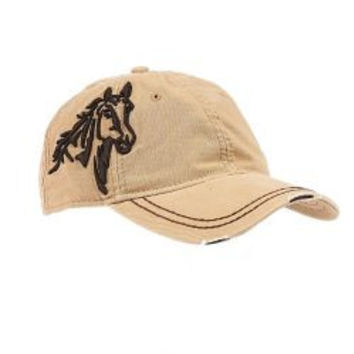 Horse Head Embroidered Hat