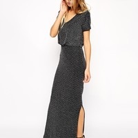Vila V Neck Maxi Dress