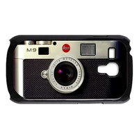 retro vintage silver leica m9 camera galaxy s3 mini black/white case