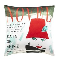 kate spade new york 'rain or shine' accent pillow - Red