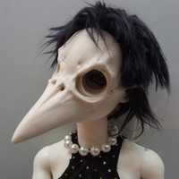 West Nile Charlotte resin bjd mask