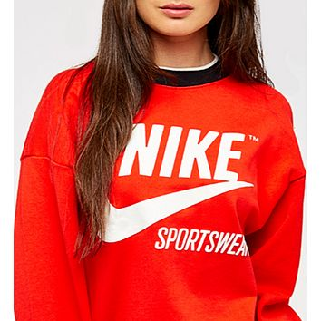 Nike Archive White Top Sweater Pullover Sweatshirt