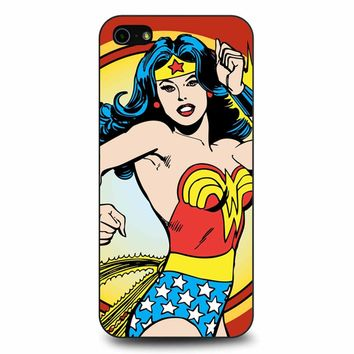 Wonder Woman Retro Hero iPhone 5/5s/SE Case