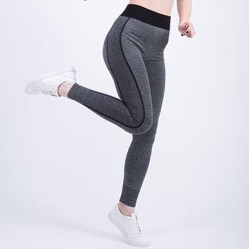 Women Sexy Cropped Leggings Elastic Force Exercise Elastic Stretchy Leggings DURABLE QUALITY! FREE SHIPPING!