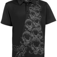 OB Mens Golf Polo (Black)