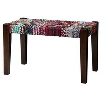 Threshold™ Woven Accent Bench
