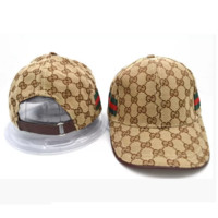 Gucci Adjustable Baseball Cap Hats for Men Women Adult
