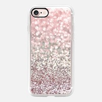 Girly Pink Snowfall iPhone 7 Case by Lisa Argyropoulos | Casetify