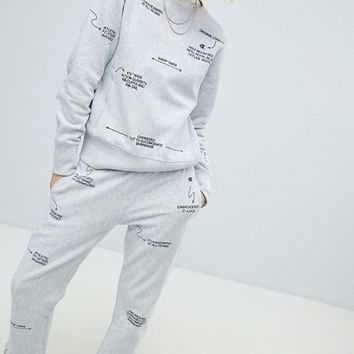 Champion Description Tracksuit Bottoms Co-Ord at asos.com