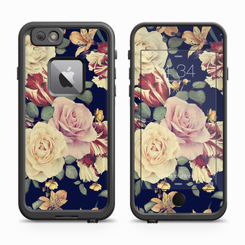 Vintage Rose Buds Skin for the Apple iPhone LifeProof Fre Case