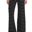 Saint Grace Moby Carol Stripe Pant in Black