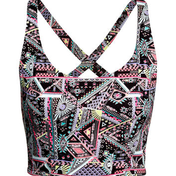 H&M Patterned Bustier $12.95
