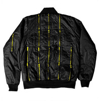 Black 16k MA-1 Bomber Jacket