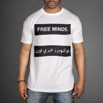 OVO Free Minds T-Shirt as worn by Drake - WeHustle.co.uk | U want it WE got it | WeHustle Enterprises Limited.