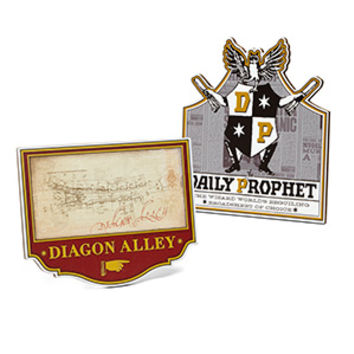 Harry Potter Die Cut Signs - Exclusive