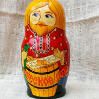 Traditional russian Doll- Bingo theme