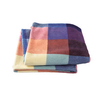 I liked this design on #Fab. Fuwa Fuwa Block Check XL Blanket