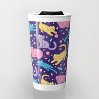 Playful, Kittens, Travel Mug, Tumbler
