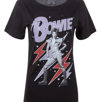 David Bowie Band Shirt by Recycled Karma