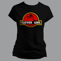 Clever Girl - Womens Jurassic Park Tee