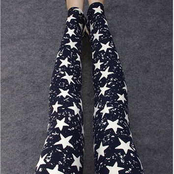 Sport Leggings 2015 Womens Fall Fashion Floral Print Leggings Pants Disco Pants Leging Feminino Ropa Mujer Jeggings HDDK007