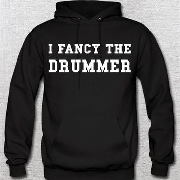 I Fancy The Drummer Hoodie - Music Band - 5sos 5 Seconds Of Summer Irwin Music Blink 182 Paramore Chemical Who Coldplay Fall Out Boy