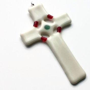 Christian Decor - Glass Cross