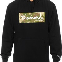Diamond Supply Co. Camo Box Logo Hoodie