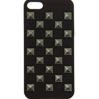 Black Pyramid Stud iPhone 5 Case