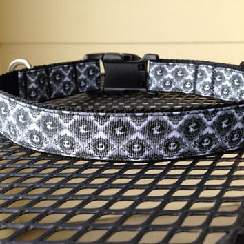 Dog Collar Made from Jack Skellington & Zero by SweetKeeps on Etsy