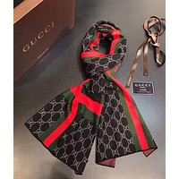 GUCCI Men winter shawl scarf F