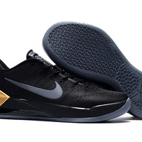 "2017 ""Mamba Day"" Nike Kobe 12 AD Black/Metallic Gold For Sale"