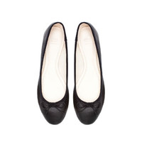 LEATHER BALLERINA - Shoes - Woman | ZARA United States