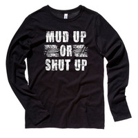 Juniors Mud Up Long Sleeve Tee