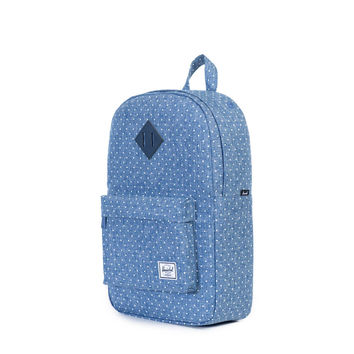 Herschel Supply Co.: Settlement Backpack Mid-Volume - Limoges Crosshatch / White Polka Dot