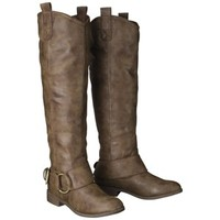 Women's Mossimo Supply Co. Kamari Tall Buckle Boots - Brown