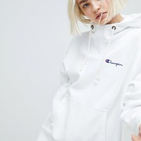 Champion Oversized Hoodie With High Neck at asos.com