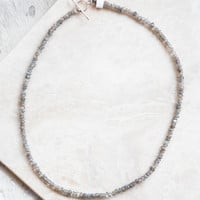Carry Me Necklace, Grey