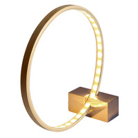Hoop And Stick Lamp