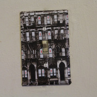 Led Zeppelin - Physical Graffiti  Light Switch Plate