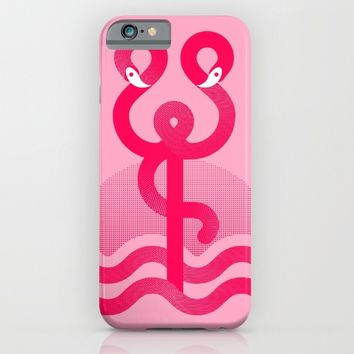 Flamingo Flavour iPhone & iPod Case by Ana Types Type