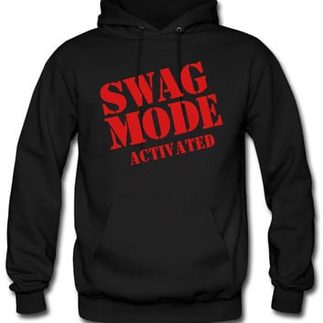 SWAG MODE ACTIVATED hoodie