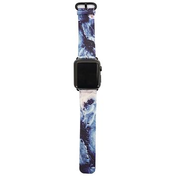 Geode Vegan Leather Apple Watch Band 38mm