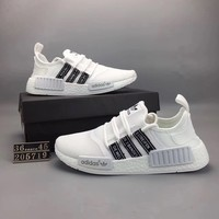 """Adidas NMD Runner Pk"" Unisex Summer Sport Casual Breathable Sneakers Couple Light Running Shoes"