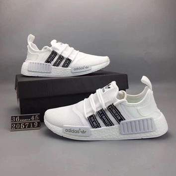 """""""Adidas NMD Runner Pk"""" Unisex Summer Sport Casual Breathable Sneakers Couple Light Running Shoes"""