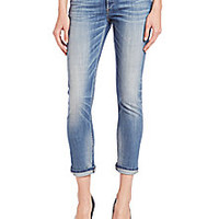True Religion - Liv Cropped Boyfriend Jeans - Saks Fifth Avenue Mobile