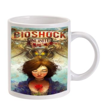 Gift Mugs | Briliant Bioshock Infinite Poster Ceramic Coffee Mugs