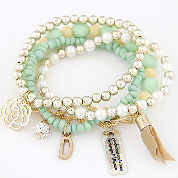 New Arrival Great Deal Gift Awesome Hot Sale Shiny Korean Stylish Bracelet [6573087559]